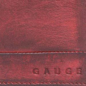 Men Maroon Solid Two Fold Wallet