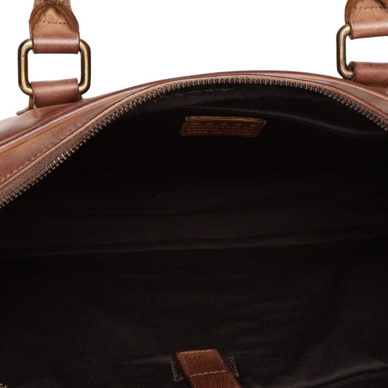 Brown Leather Handcrafted Laptop Bag